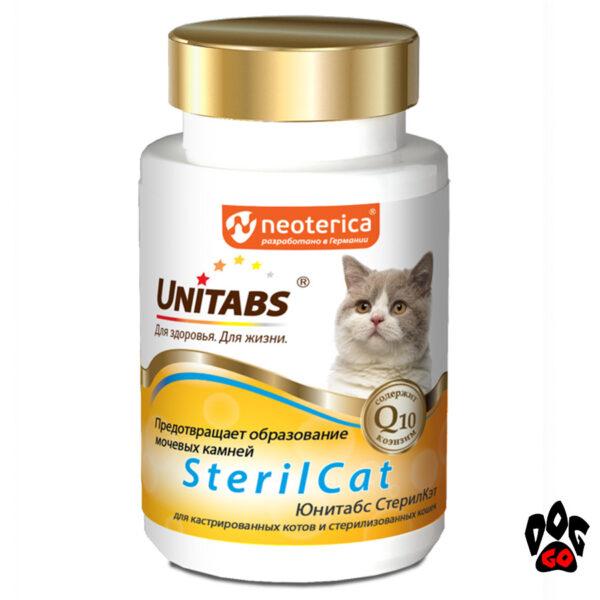 Unitabs SterilCat Витамины для кастрированных котов и стерилизованных кошек 120 таб.