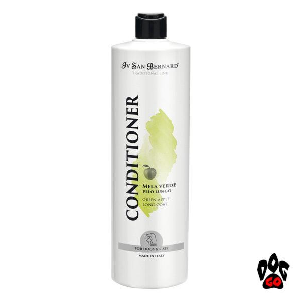 """IV SAN BERNARD """"Яблоко"""" (Green Apple) Кондиционер от колтунов для длинношерстных собак и кошек, 1 литр"""