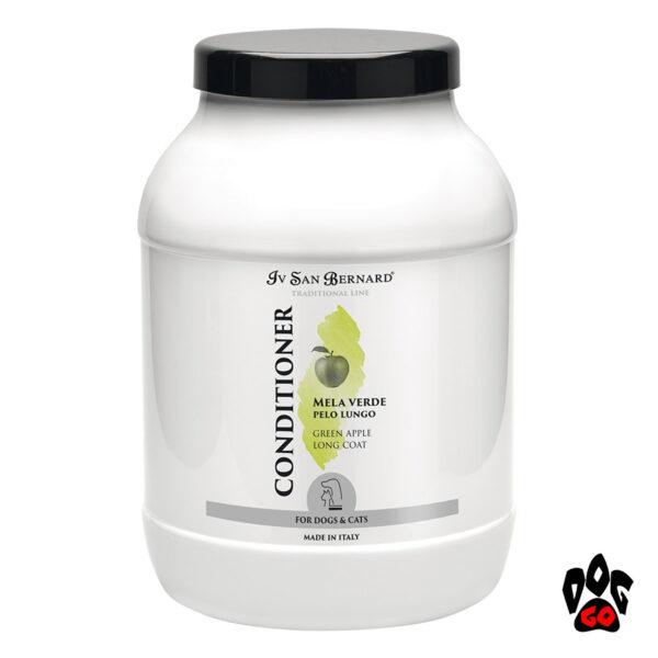 """IV SAN BERNARD """"Яблоко"""" (Green Apple) Кондиционер от колтунов для длинношерстных собак и кошек, 3 литра"""