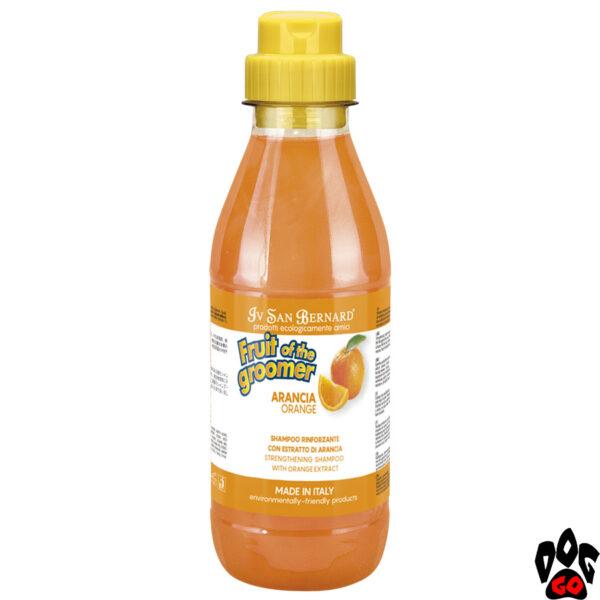 """Шампунь для собак от выпадения шерсти IV SAN BERNARD """"Orange"""" с апельсином, 500мл"""