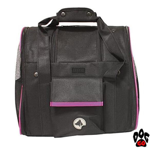 Автокресло для маленьких собак CROCI Scarlett, 38x26x31см-2