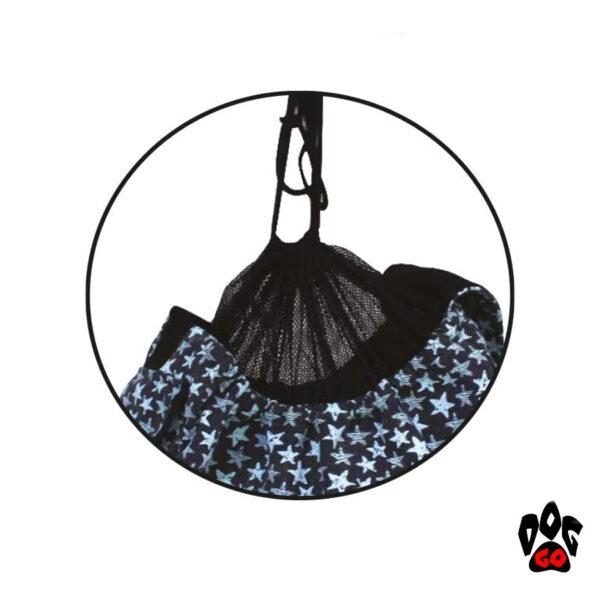 Сумка-гамак для собак и кошек CROCI Leisure, 41x26x17см-4
