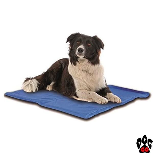 Коврик охлаждающий для собак CROCI, синий (S, M, L, XL)