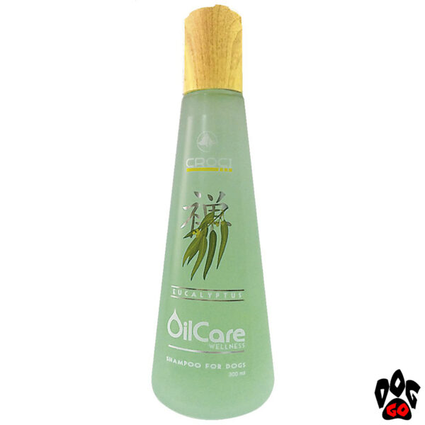 Лучший шампунь для собак от запаха CROCI GILL'S OILCARE WELLNESS с экстрактом эвкалипта (Оздоровление, питание и блеск шерсти) 300 мл