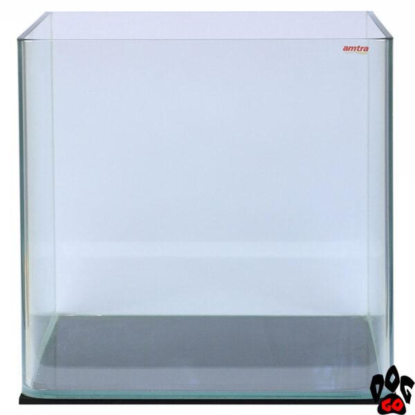 Морской аквариум на 60 литров AMTRA NANOTANK панорамный (38x38x43 см), с крышкой, стекло 5 мм, пустой