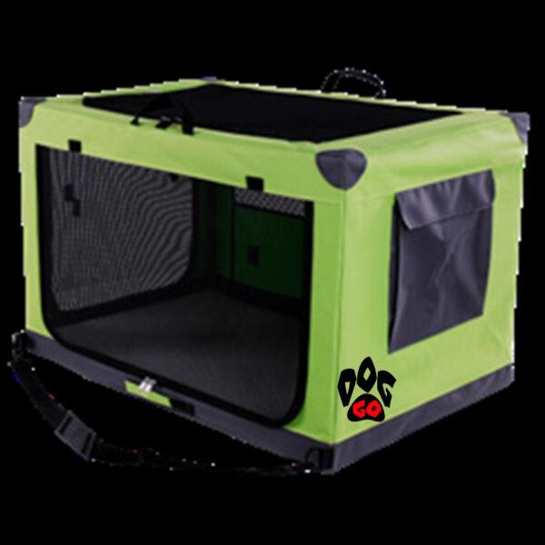 Палатка для выставки собак и кошек CROCI DENVER сетка, карманы, 61х91х58 см - 4