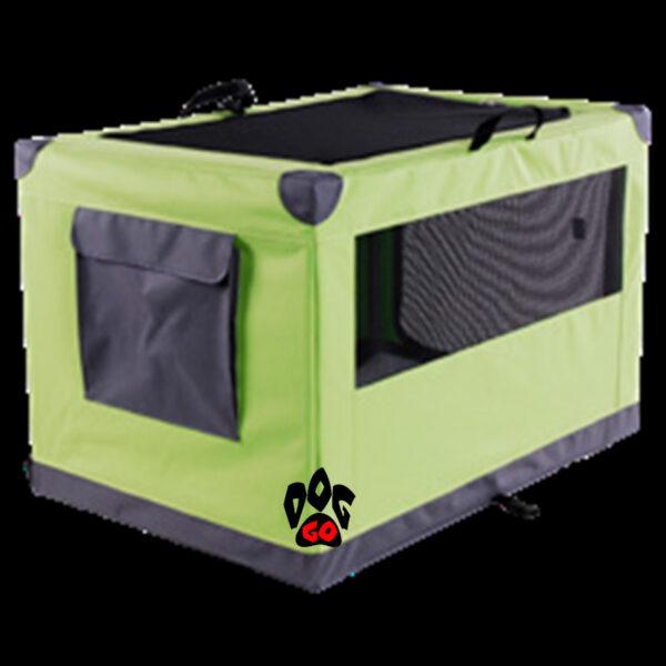 Палатка для выставки собак и кошек CROCI DENVER сетка, карманы, 61х91х58 см - 5