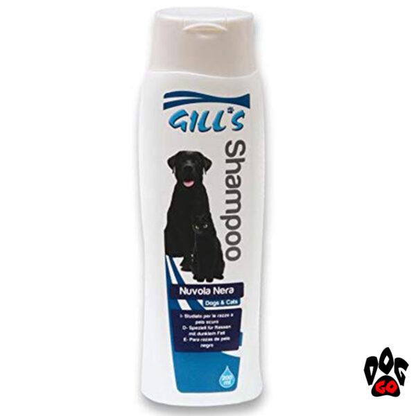 Шампунь для чёрных собак и кошек GILL'S CROCI, восстанавливающий естественный окрас, 200 мл