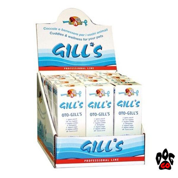 Ушные капли для собак и кошек GILL'S CROCI гигиенические, 50 мл - 1