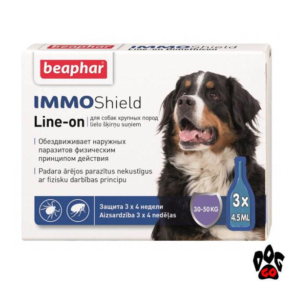 BEAPHAR IMMO SHIELD капли для собак от 30-50 кг (3*4.5 мл)