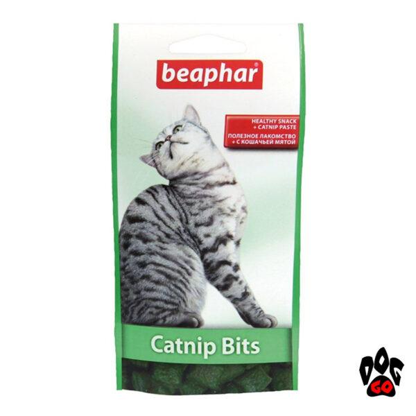 BEAPHAR лакомства для кошек Catnip Bits с мятой, 150 г