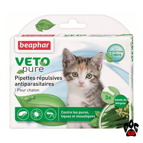 Капли от блох для котят BEAPHAR БИО Spot-on (3*0,4 мл)