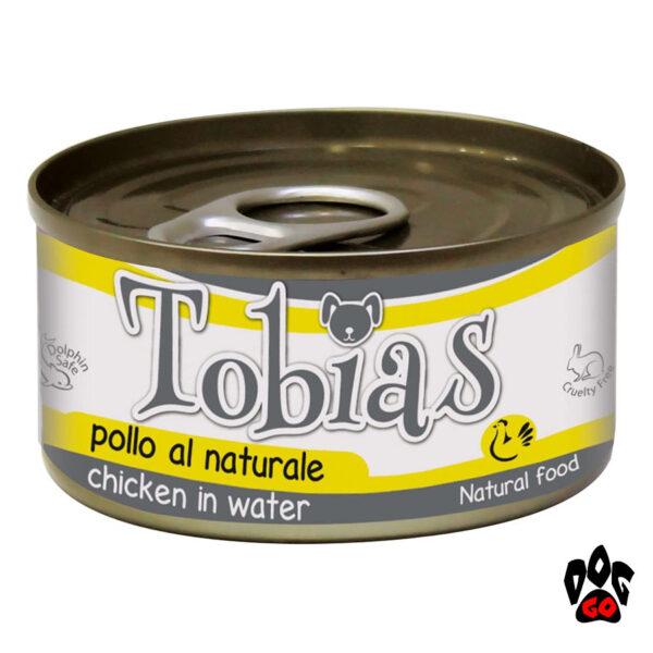 Конcерва для собак TOBIAS CROCI с курицей в собственном соку, 170 г