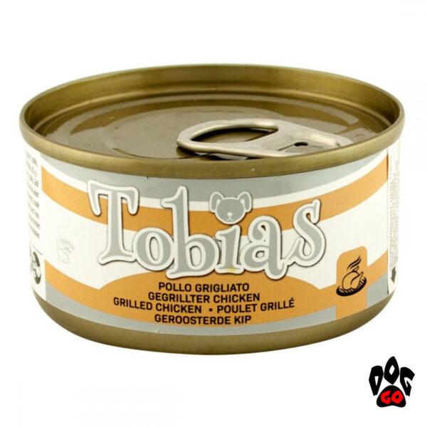 """Конcервы для собак TOBIAS CROCI """"Курица гриль"""", 85 г"""
