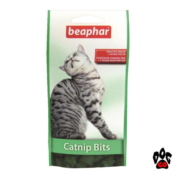 Лакомство для котов BEAPHAR Catnip Bits с кошачьей мятой, 35 г