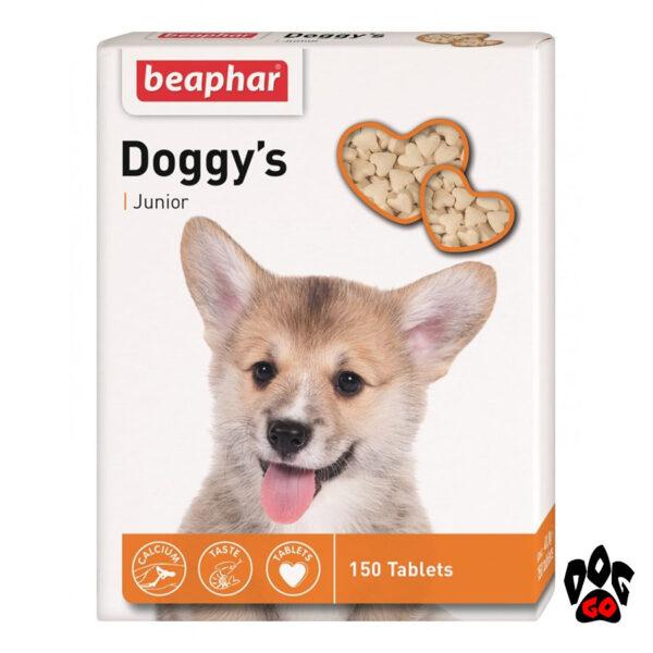 Лакомство для щенка BEAPHAR Доггис юниор, 150 табл