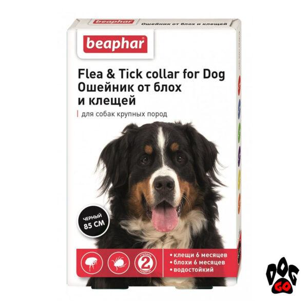 Ошейник от блох и клещей для собак BEAPHAR, 85 см (крупные породы), XXL