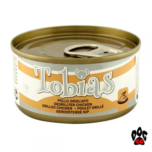"""TOBIAS Конcервы для собак CROCI """"Курица гриль"""", 170 г"""