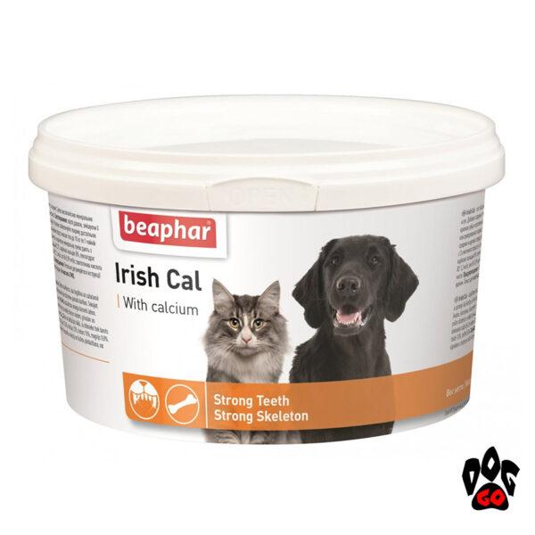 Витаминно-минеральная смесь BEAPHAR IRISH CAL для щенков, собак и кошек, 250 г