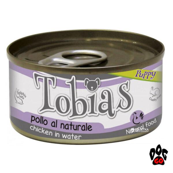 Влажный корм для щенков TOBIAS CROCI с курицей, 85 г