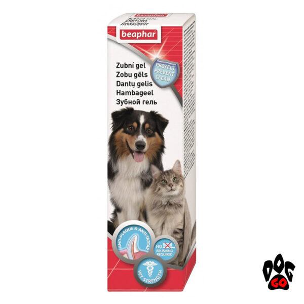 BEAPHAR гель для зубов собак и кошек Tooth gel, 100 мл