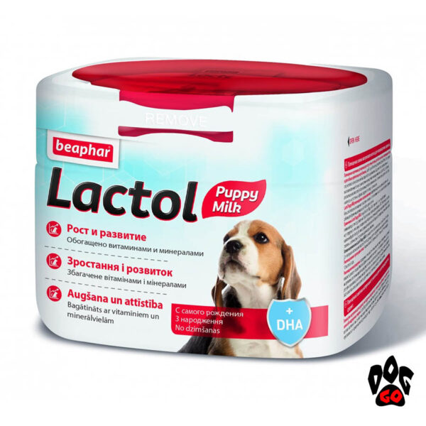 БЕАФАР Молочная смесь для щенков LACTOL, 250 г