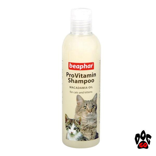 BEAPHAR Pro Vitamin Shampoo для кошек и котят, 250 мл