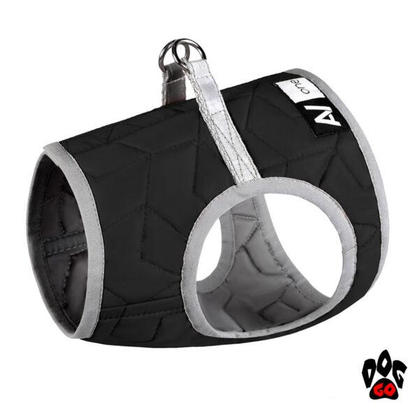 COLLAR Шлейка для собак Airy Vest ONE, 36-39 см, черный