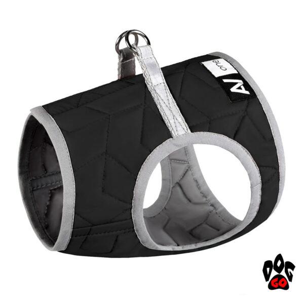 COLLAR Шлея для собак Airy Vest ONE, черный, 24-27 см