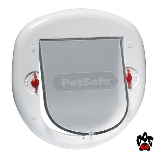 Дверца для собаки, кошки CROCI, пластик, до 10 кг, белая, 200х180 мм
