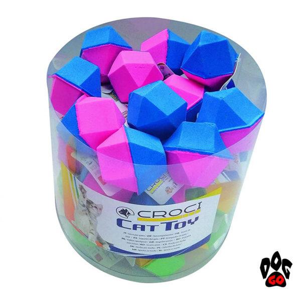 Игрушка для кошек CROCI Геометрия, 4 см