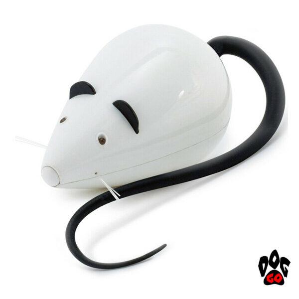 Интерактивная игрушка для кота CROCI Frolicat Мышь автоматическая, пластик, 12 см