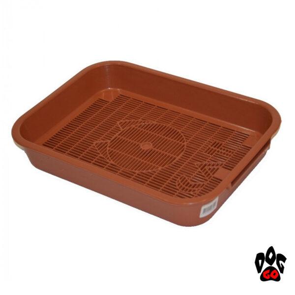 Кошачий лоток с сеткой COLLAR CAT, 35x25x5.5 см