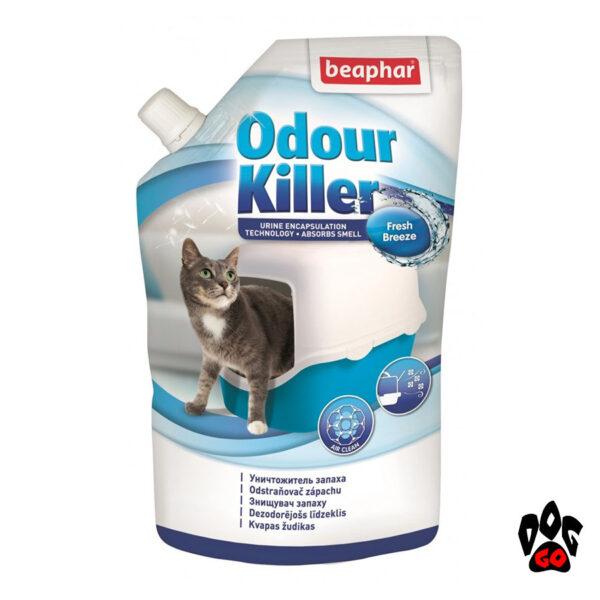 Нейтрализатор запаха кошачьей мочи для туалетов BEAPHAR, 400 мл