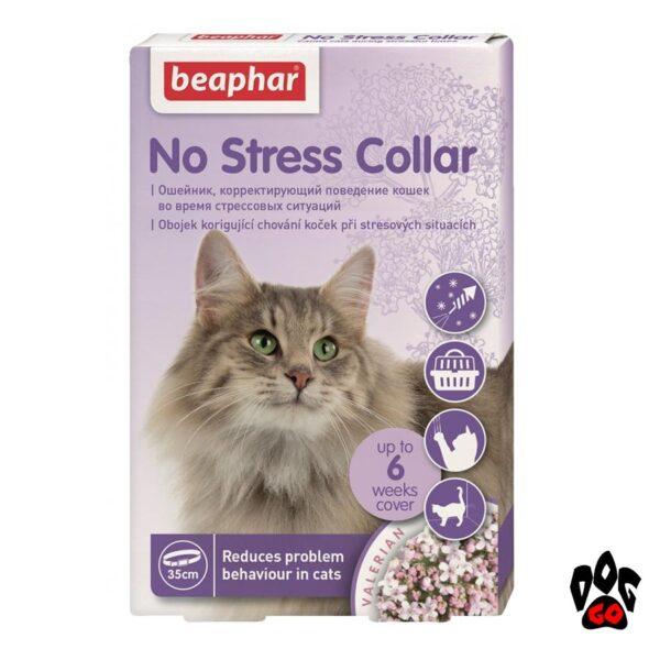 Ошейник антистресс для кошек BEAPHAR, 35 см