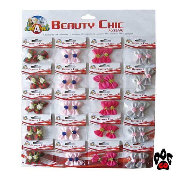 Резинки для собак CROCI Бантики 35 мм, 2 шт