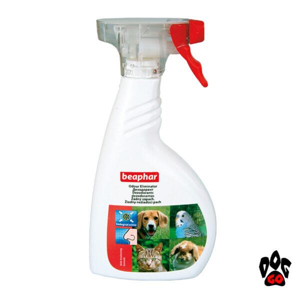 Спрей от запаха мочи кошек и собак BEAPHAR, 400 мл
