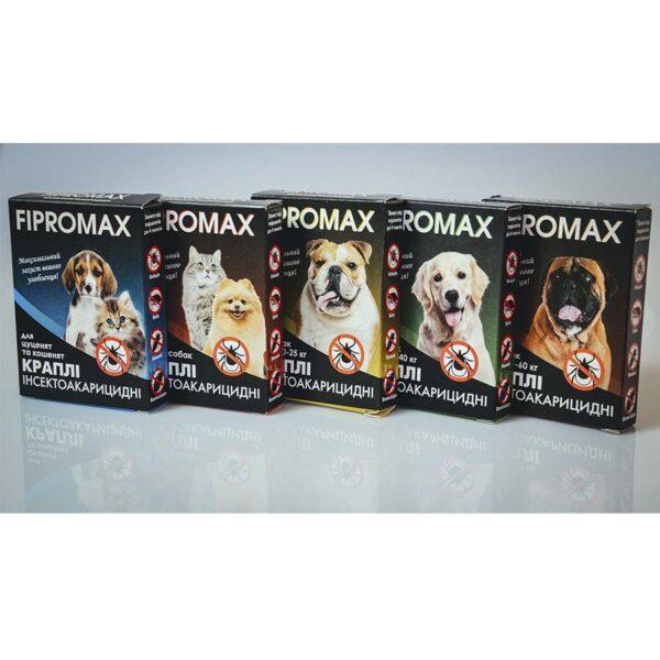 ФИПРОМАКС для собак и кошек