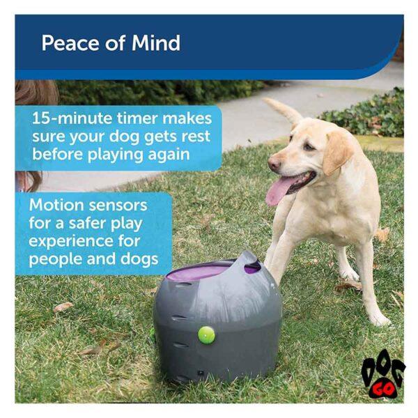 Автоматический метатель мяча для собак PetSafe - 7