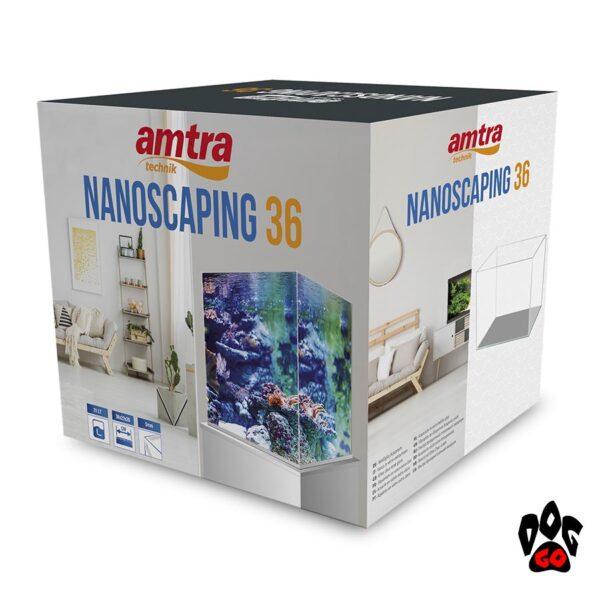 Аквариум AMTRA NANOSCAPING 36, 30л, 36x23x30см, 5мм