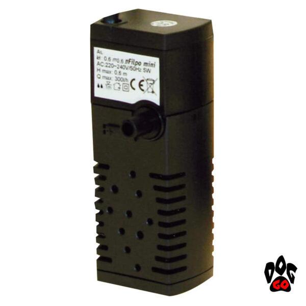 Фильтр для аквариума на 30 литров Amtra FILPO MINI, 200л.час-1