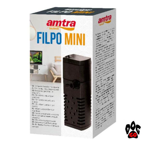 Фильтр для аквариума на 30 литров Amtra FILPO MINI, 200л.час-2