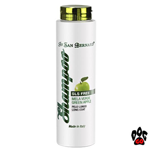 Ив Сан Бернард Яблоко Шампунь Iv San Bernard Apple SLS FREE для собак и котов с длинной шерстью, для блеска-1