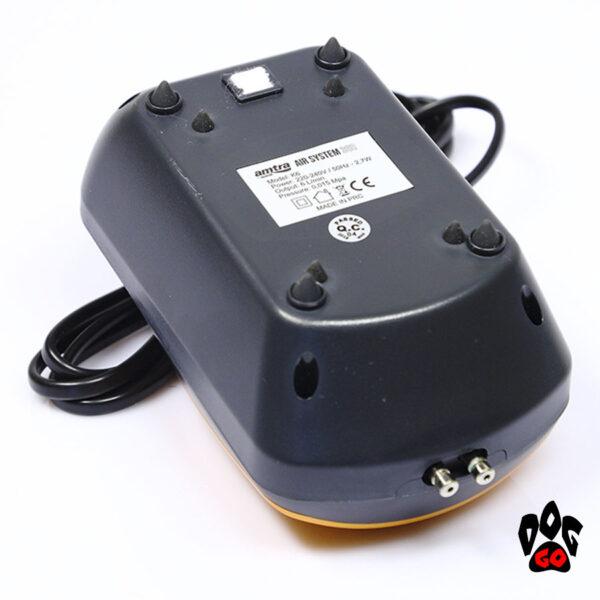 Компрессор для аквариума на 300 литров Amtra AIR SYSTEM 360 л.ч, бесшумный SET (шланг, расп-ли, клапан)-3