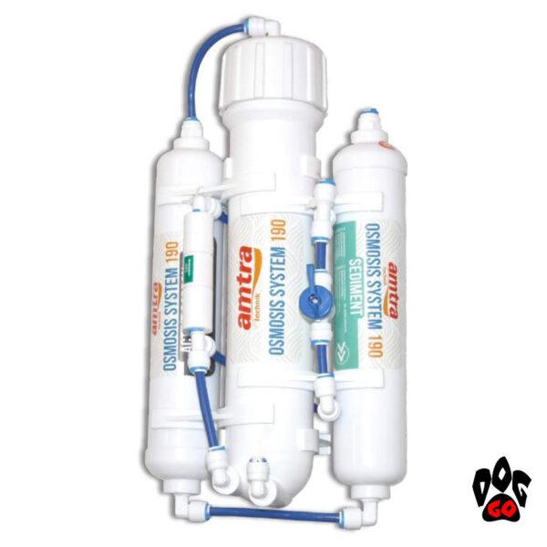 Обратный осмос для аквариума AMTRA OSMOSIS SYSTEM 190, система очистки воды-1