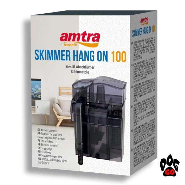 Пеноотделитель для морского аквариума до 100 литров AMTRA SKIMMER HANG ON 100-2