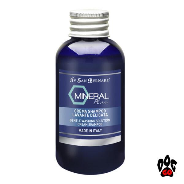 Шампунь для собак от дерматита Iv San Bernard Mineral Plus Cream для воспаленной кожи (кот/собака), 100мл