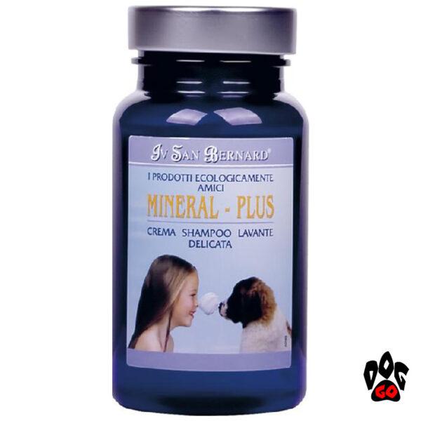 Шампунь для собак от дерматита Iv San Bernard Mineral Plus Cream для воспаленной кожи (кот/собака) 100мл-3л-1