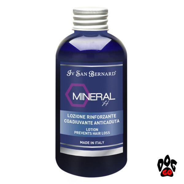 Средство от выпадения шерсти у собак Лосьон Iv San Bernard Mineral H с плацентой, от перхоти (кот/собака) 150мл