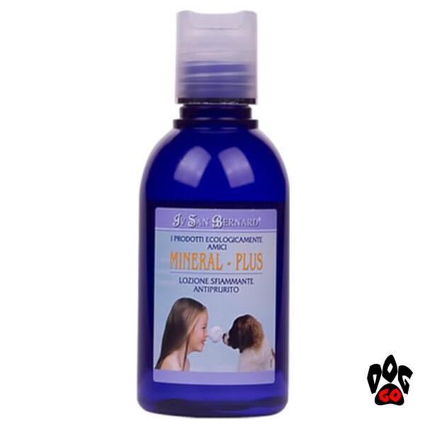 Средство от зуда для собак Лосьон Iv San Bernard Mineral Plus Lotion для успокоения кожи (кот, собака) 125мл-1